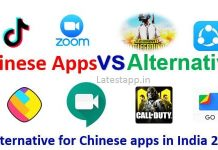 Top Popular Alternative for Chinese apps in India 2020